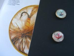 Francois Hugo buttons for Elsa Schiaparelli