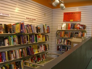 And even an enticing used book area ©booksandbuttons