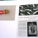 Hands were in the news for designers in the 1930s . . . article by Georges Hugnet inspired a pin by Schiaparelli