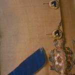 Schiaparelli linen jacket circa 1940