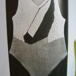 Knitted Swimsuit by Elsa Schiaparelli 1928.