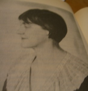 Portrait of Susan Glaspell, 1938, furnished in my volume published 1987 by Cambridge University Press