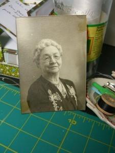 my grandmother, Evalyn ©booksandbuttons