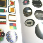 Ardor of Paris buttons featured in Boutons by Loic Allio ©booksandbuttons
