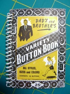neat button booklet: Dads and Brothers ©booksandbuttons