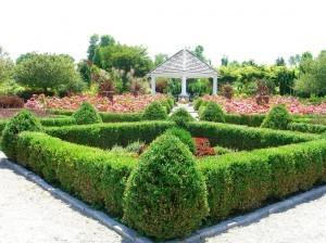 partere garden with gazebo ©booksandbuttons