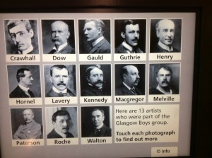 Some of the Glasgow Boys---early artists making Scottish history in the arts