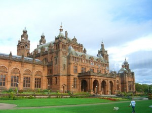 another view--it's huge! Kelvingrove Art Gallery and Museum Glasgow