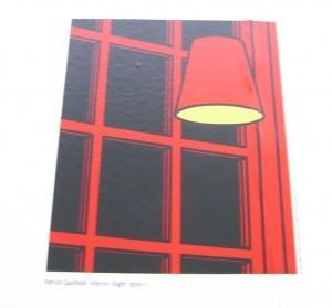 Interior: Night by Patrick Caulfield 1936-2005, screenprint on paper ©booksandbuttons