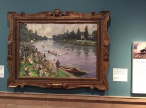 """The Maidenhead Regatta"" 19  by John Lavery at the Kelvingrove in Glasgow ©booksandbuttons"
