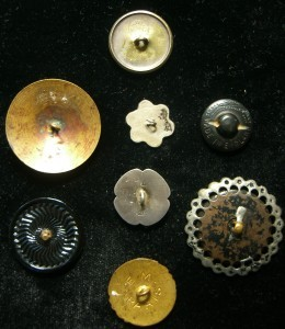 button backs . . .for photo above