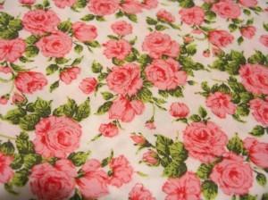 Liberty of London roses fabric ©booksandbuttons