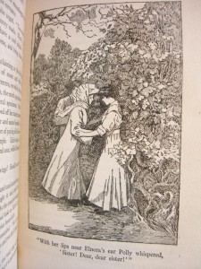 illustration by Wladyslaw T. Benda from novel A Girl of the Limberlost