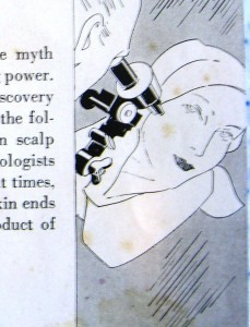 real scientist with microscope ©booksandbuttons