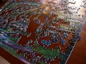 puzzles- mermaid, dog, sewing 001