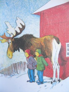 from Honk the Moose by Phil Stong, illus Kurt Wiese ©booksandbuttons