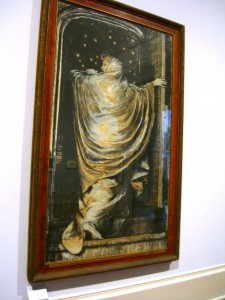 Depiction of The Woman in White by Frederick Walker at the Tate Britain Museum ©booksandbuttons