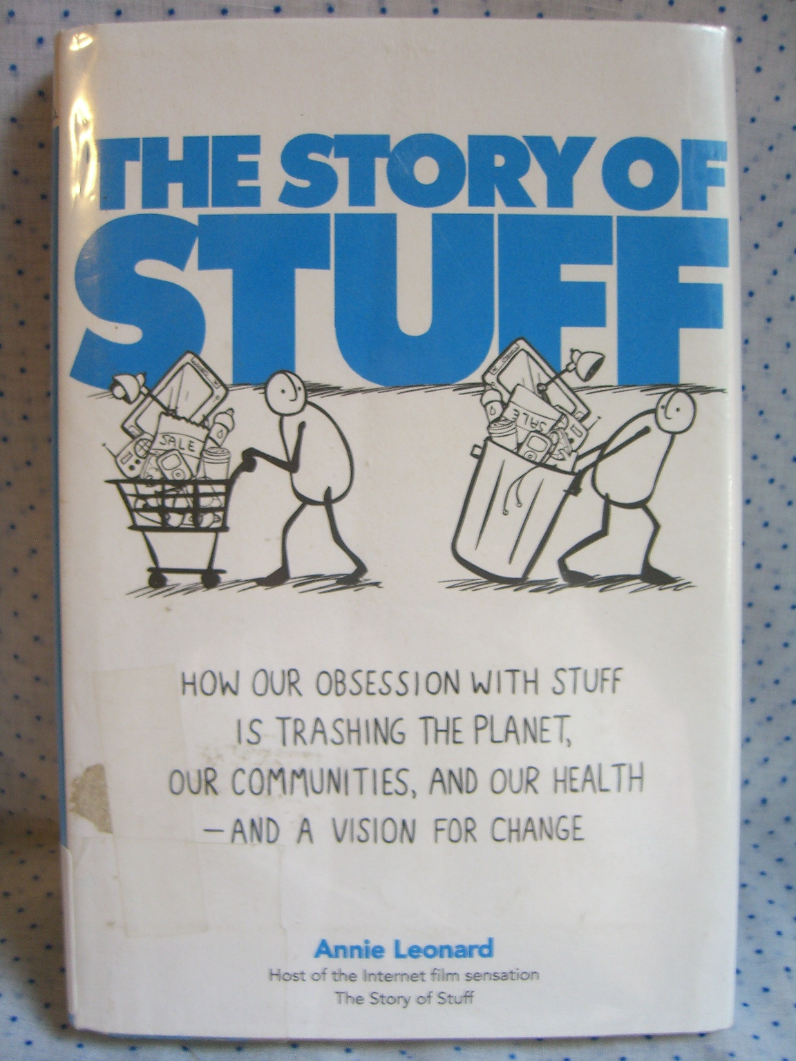 the story of stuff While some companies have started to suggest interim solutions, such as washing synthetics less or capturing the fibers with filters, the story of stuff our society has overcome tremendous challenges in the past, said michael o'heaney, executive director of story of stuff if we can put people on the.