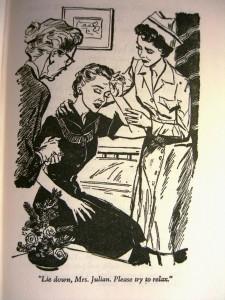 Mrs. Julian in Cherry Ames Department Store Nurse ©booksandbuttons