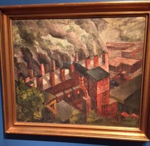 Gustave L Brust Jr: Brick Kiln, before 1937