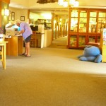 first large room at Bolton Free Library---to show the openness--a wide open feeling.