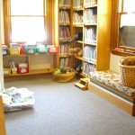 children's section at Bolton Free Library