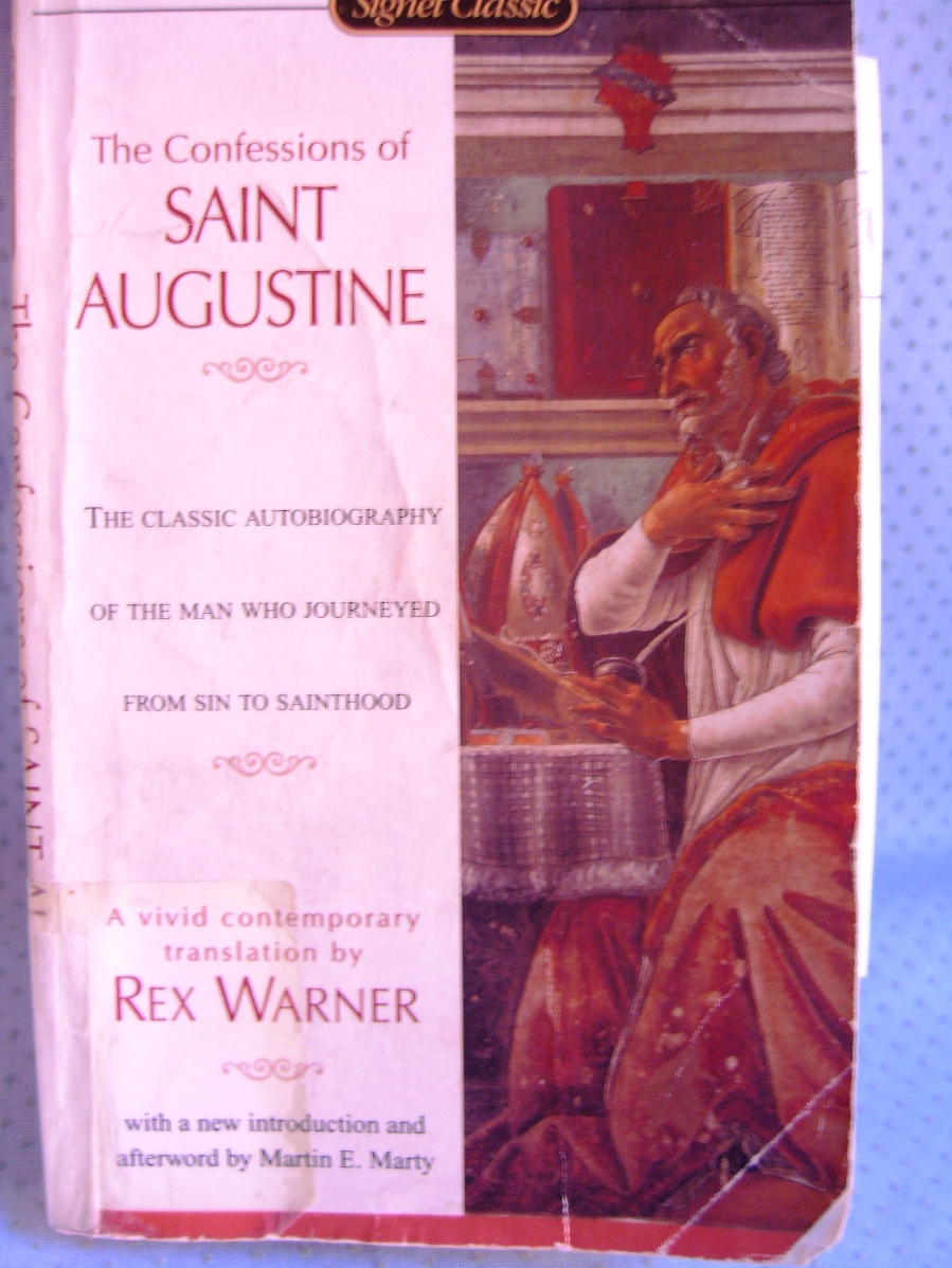saint augustines confessions about sinning in the confessions