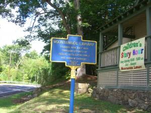 Warren County libraries mountside sign 077