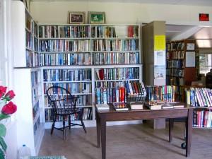 as you enter Mountainside Library