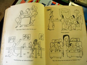 inside of Alarms and Diversions by James Thurber