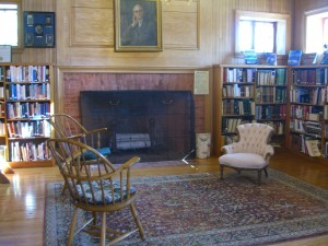 and then the reading room at Diamond Point