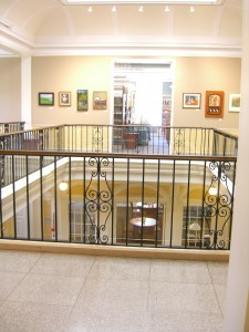 second floor at Crandall Library Glens Falls NY