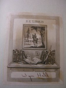 Bookplate found in my edition of Cyrano de Bergerac ©booksandbuttons