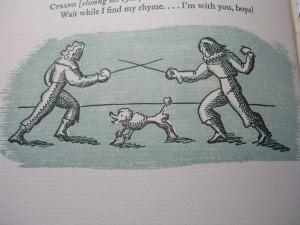 Illus by Paul McPharlin in Cyrano de Bergerac