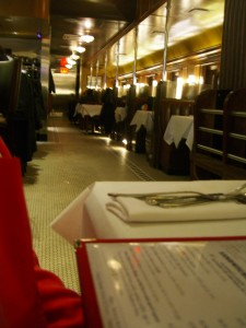interior the Brooklyn Diner at 6th and Broadway New York
