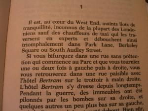 De L'Hôtel Bertram page 1