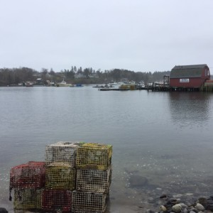 coastal Maine, lobster traps