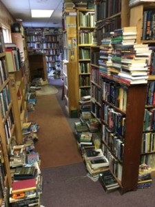 Two Brothers Book Shop in Freeport ME ©booksandbuttons